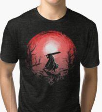Sunset Glow Berserk Tri-blend T-Shirt