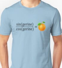 tan(gerine) math Unisex T-Shirt