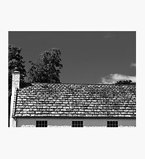 The Stunning Detail of a simple Roof Photographic Print