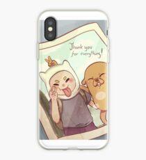 Finn & Jake - Adventure Time - Photo iPhone Case