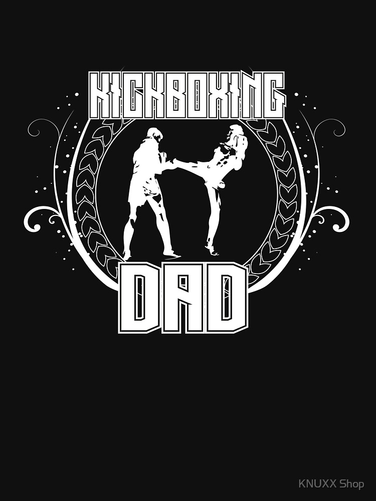 Kickboxing Dad Combat Fights Martial Fight Sport by zot717