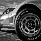 Indy 500 Black and White by Nathan Little