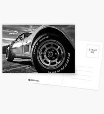 Indy 500 Black and White Postcards
