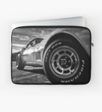 Indy 500 Black and White Laptop Sleeve
