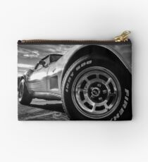 Indy 500 Black and White Studio Pouch