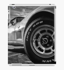 Indy 500 Black and White iPad Case/Skin