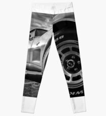 Indy 500 Black and White Leggings