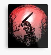Sunset Glow Berserk Metal Print