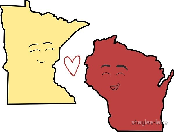 Minnesota/Wisconsin Lovers by shaylee-lane