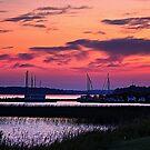 Sunset in Dryden, Ontario by Teresa Zieba
