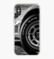 Indy 500 Black and White iPhone Case