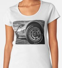 Indy 500 Black and White Women's Premium T-Shirt
