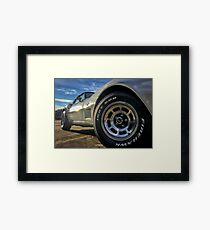 Indy 500 in Color Framed Print