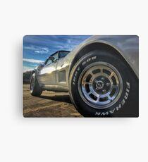 Indy 500 in Color Metal Print
