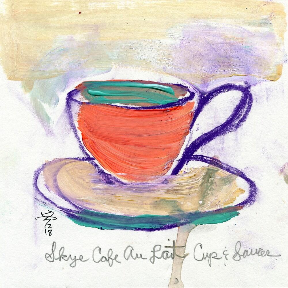 Coffee Cup - Skye Cafe by coffeeartmaker