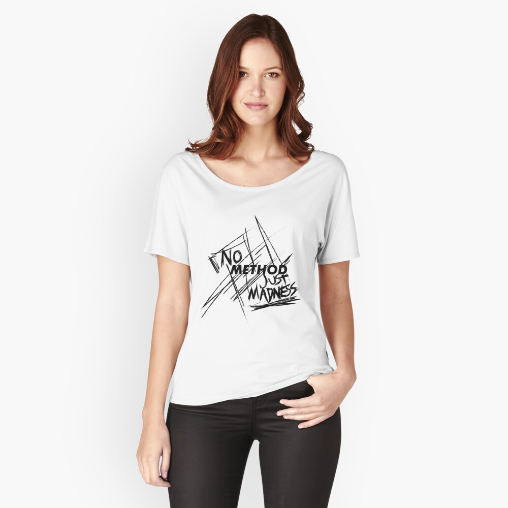 No Method Just Madness Relaxed Fit T-Shirt