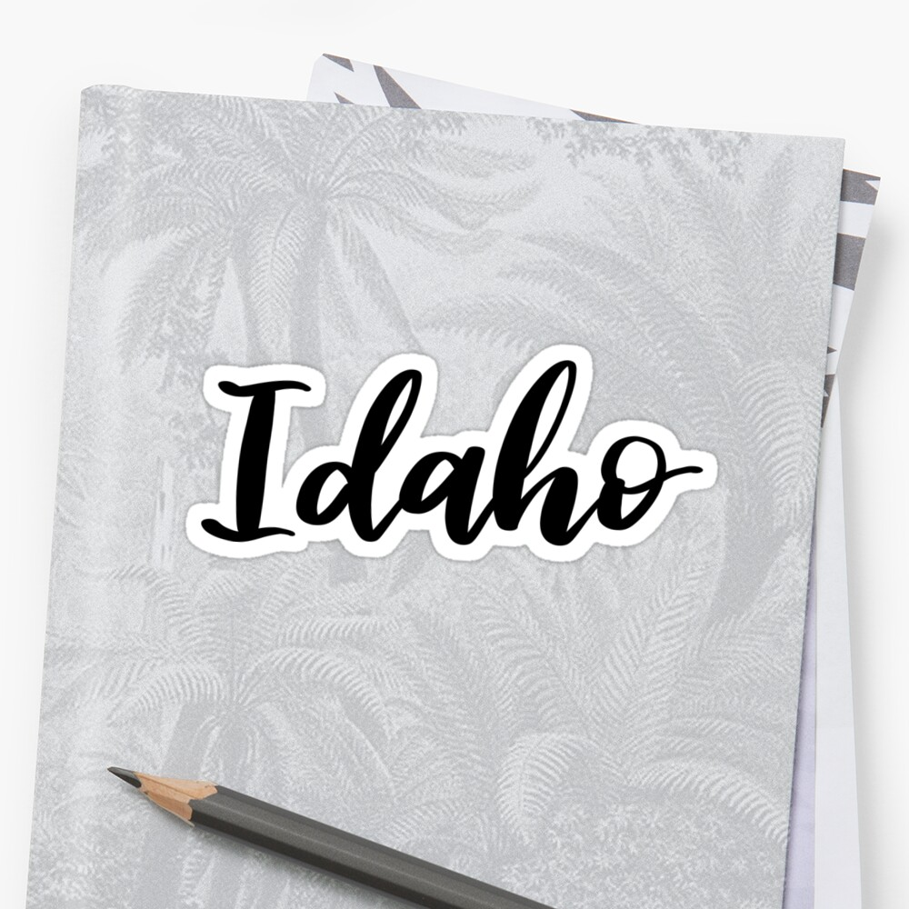 Idaho by ellietography