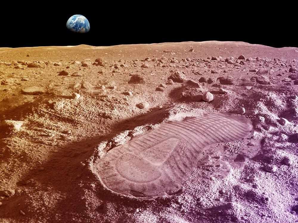 Yeezy Moonrock Footprint by calebwhite