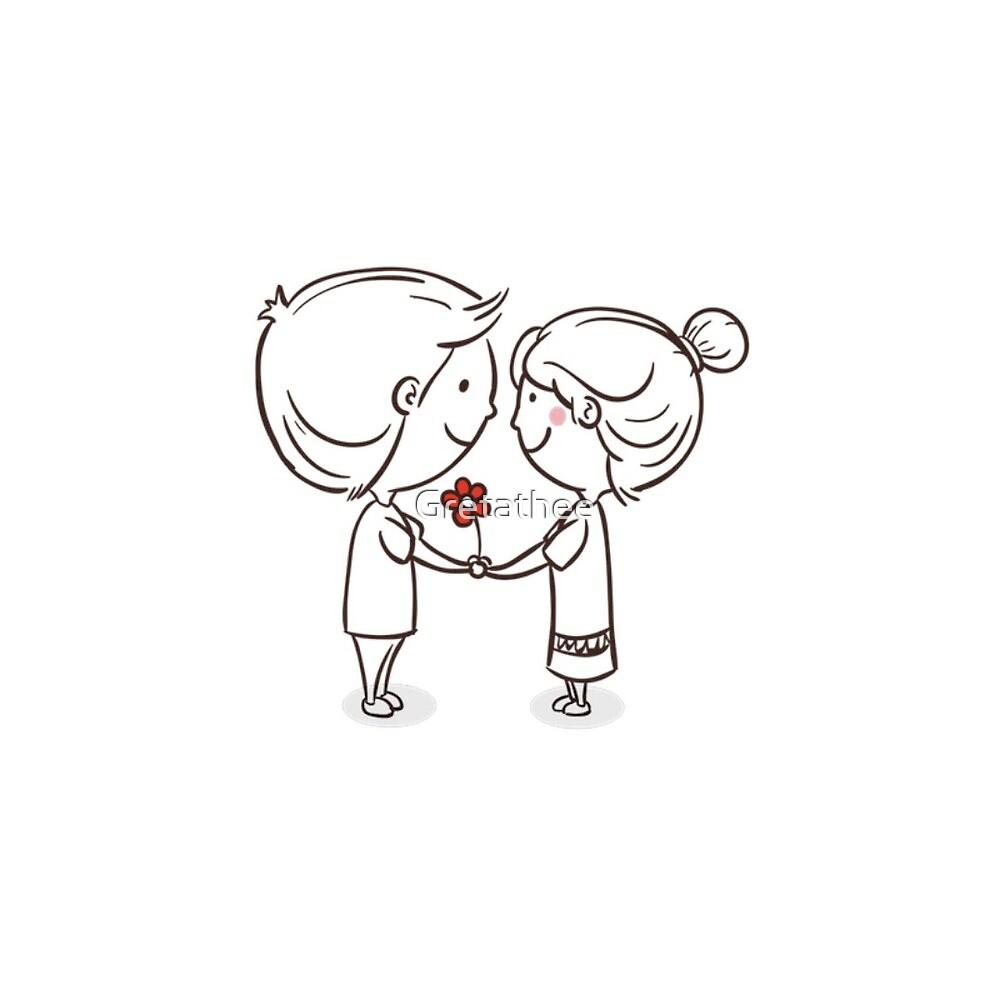 loving Couple by Gretathee