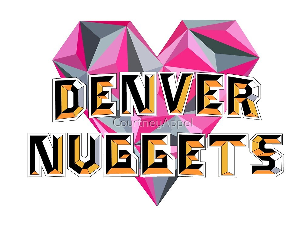 Denver Nuggets Heart by CourtneyAppel