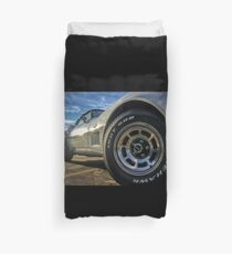 Indy 500 in Color Duvet Cover