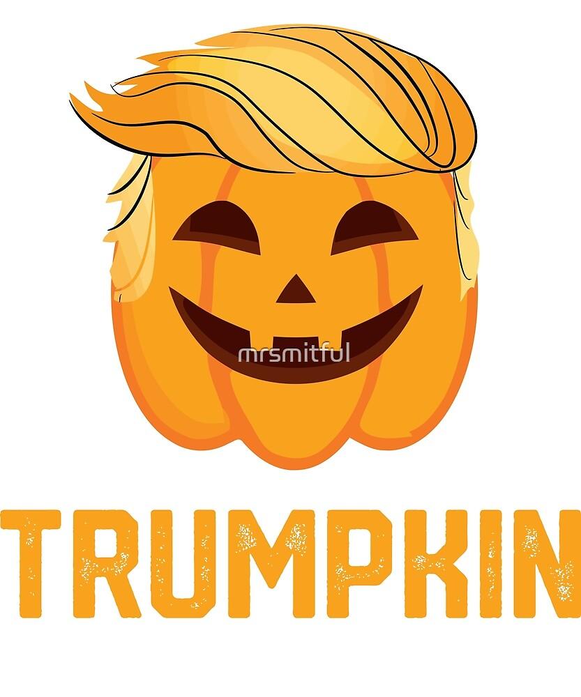 Trumpkin Shirt Make Halloween Great Again Trump by mrsmitful