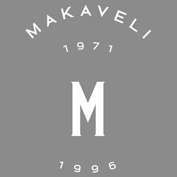 Makaveli 1971-1996 Merch - White by trump-card