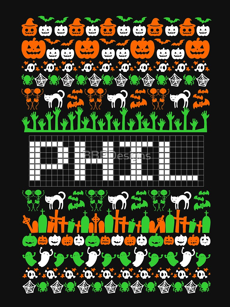 Phil Ugly Halloween Long Sleeve Phil T-Shirt by BBPDesigns