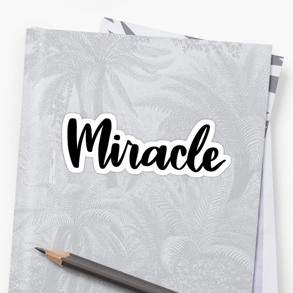 Miracle  by ellietography