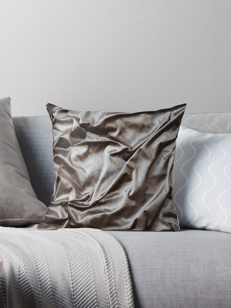 WOKE UP LIKE THIS - abstract luxury shiny texture, modern, monochrome by cadinera