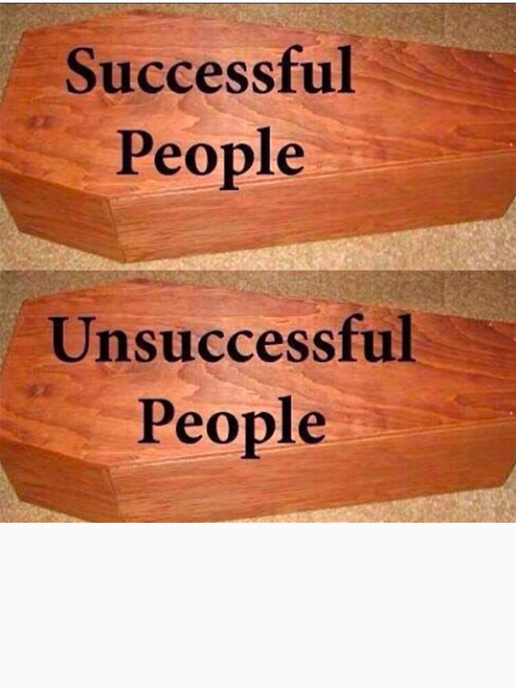Successful and Unsuccessful People by adjua