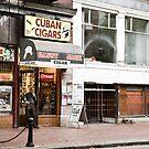 Gastown Cigar Shop by Marlene Hielema