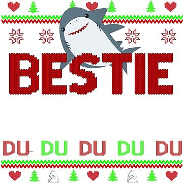 bestie shark by ZEETEESAPPAREL