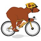 Cycling Grizzly Bear - Brown Bear by grumpyteds