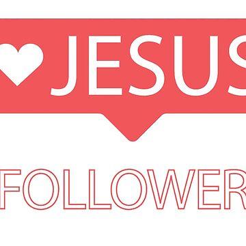 Jesus Follower by rawary