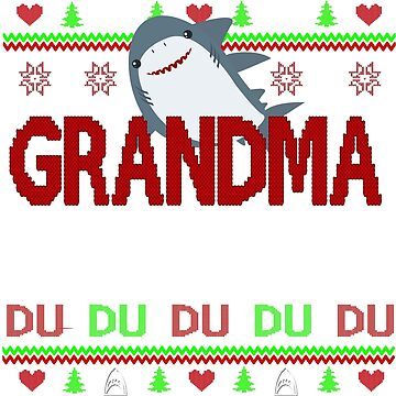 grandma shark by ZEETEESAPPAREL