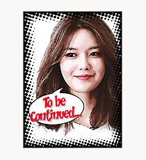 Sooyoung Photographic Print
