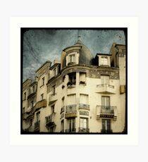 La Maison Poirier Art Print