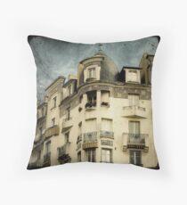 La Maison Poirier Throw Pillow
