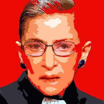 Ruth Bader Ginsburg by oryan80