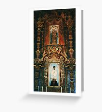 Inside mission! Greeting Card