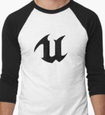 Camiseta ¾ bicolor para hombre Unreal Engine 4