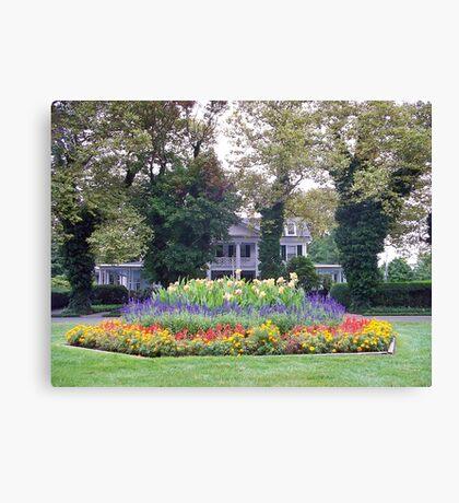 House & Garden  Canvas Print