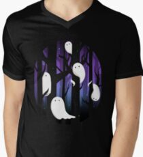 Ghosts in the Forest Men's V-Neck T-Shirt