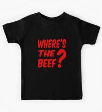 Where's the beef? Kids Tee
