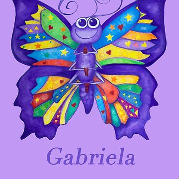 A Yoga Butterfly for Gabriela by MonicaArtist
