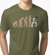 March of Elvis Tri-blend T-Shirt