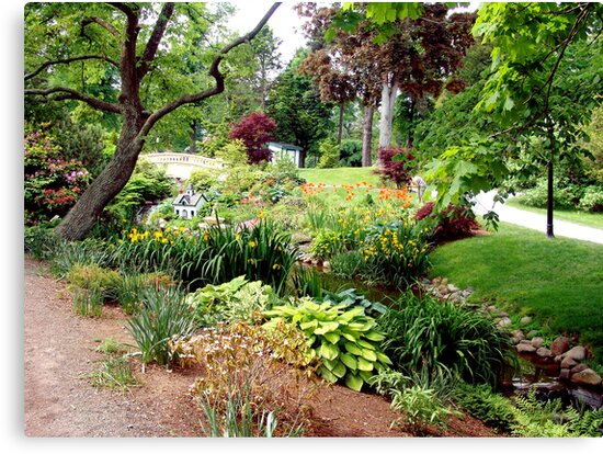 Halifax Public Gardens by George Cousins