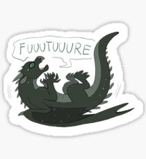 Wings of Fire - Moonwatcher (freaking out) Sticker
