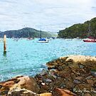 Parsley Bay, Hawkesbury River by Michelle Ricketts